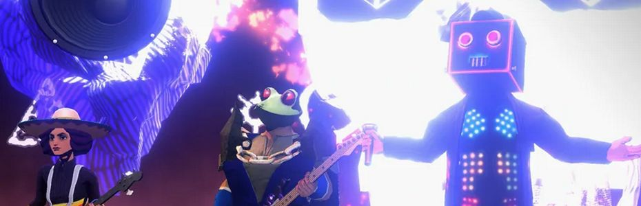 E3gk | e3 2021 - Le groupe The Living Tombstone dévoile AudioClash:  Battle of the Bands