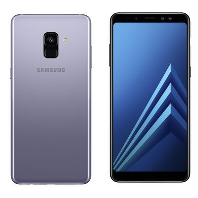 "Test:  Smartphone Samsung Galaxy A8 (2018) : comme un air de Galaxy S8 ""lite"""