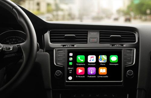 CarPlay et les applications de navigation compatibles