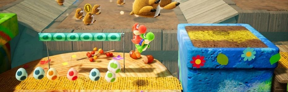 Nintendo direct du 13/02/19 - La démo jouable de Yoshi's Crafted World donne accès au premier niveau