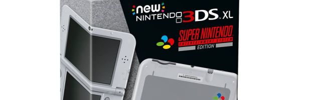 La New 3DS XL Super Nintendo annoncée en Europe