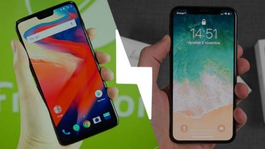 OnePlus 6 vs iPhone X:  le match du notch