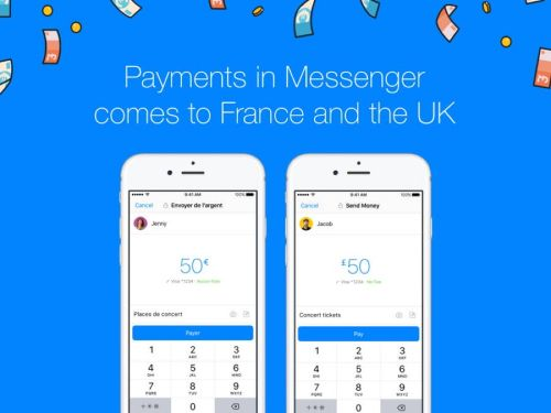 Le paiement via Facebook Messenger désormais disponible en France