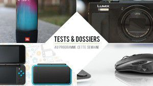 7 jours de tests - Panasonic Lumix TZ90, New Nintendo 2DS XL