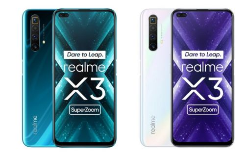 Realme X3 SuperZoom:  Snapdragon 855+ et gros module photo à moins de 500 euros