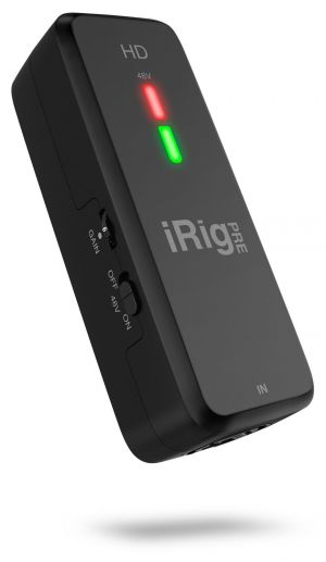 IRig Pre HD, la nouvelle interface audio portable d'IK Multimedia