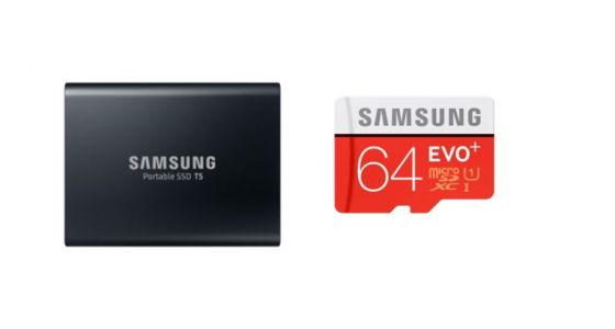 Un pack Samsung SSD 1 To + carte SD 64 Go pour 149 euros