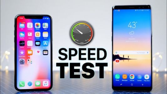 Test de la batterie de l'iPhone XS Max VS Galaxy Note 9
