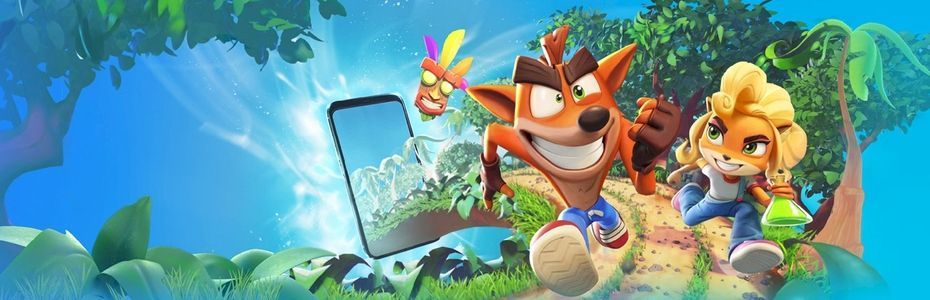 Le studio King annonce le jeu mobile Crash Bandicoot:  On the Run