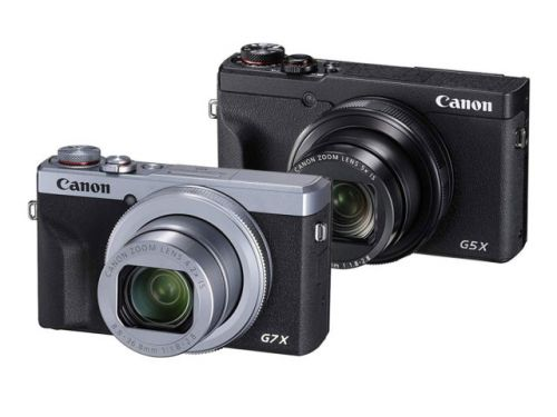 Canon PowerShot G5X Mark II et G7X Mark III, le duo nomade
