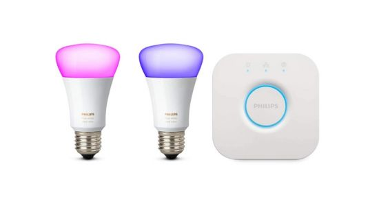 🔥 Bon plan:  des lots d'ampoules Philips Hue White and Color à partir de 79 euros