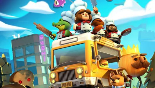 Test - Salade, tomates et gnons sur Overcooked 2
