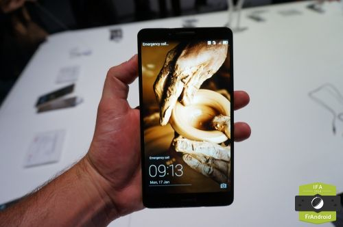 Prise en main du Huawei Ascend Mate 7, une alternative sérieuse au Galaxy Note