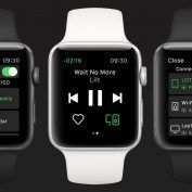 Spotify est disponible sur l'Apple Watch en version finale