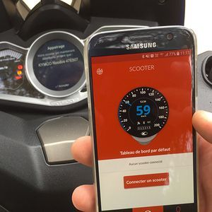 Dossier - Kymco XCiting S 400i: un scooter connecté sous iOS et Android