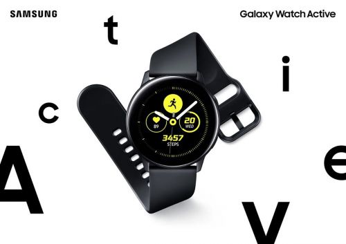 Samsung Galaxy Watch Active officialisé:  la montre intelligente dédiée aux sportifs