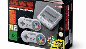 Nintendo officialise la Super Nintendo Classic Mini