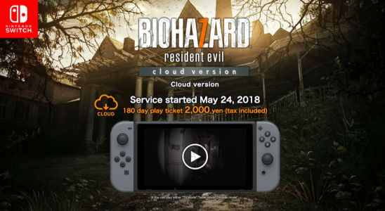 Lancement de Resident Evil 7 sur Nintendo Switch via Cloud Streaming