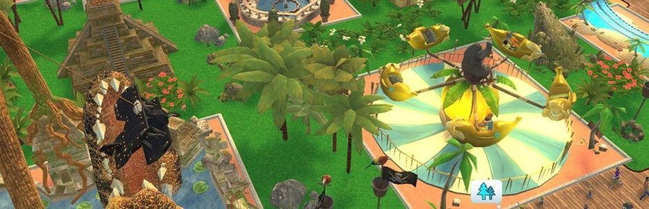 RollerCoaster Tycoon Adventures prend date sur Switch