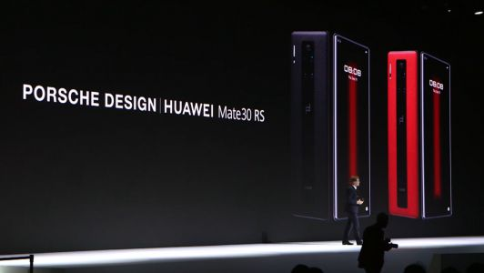 Porsche Design Huawei Mate 30 RS:  plus cher qu'un Galaxy Fold, sans le Play Store