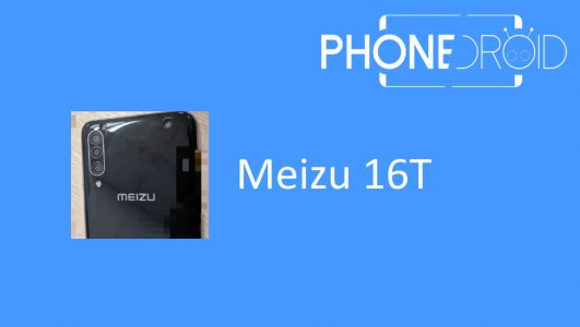 Meizu 16T:  Triple capteurs Photo