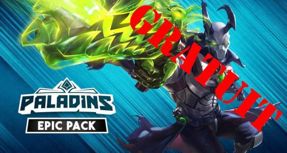 Le pack Epic de Paladins et Stubbs the Zombie in Rebel Without a Pulse sont offerts !