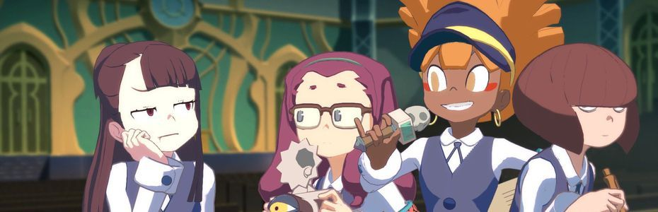 Action, réactions - Little Witch Academia:  Chamber of Time balayé par Puyo