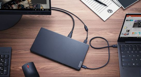 Le Lenovo Thunderbolt 3 Graphics Dock, une GeForce 1050 au bout du câble