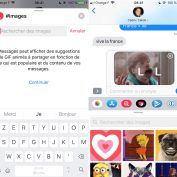 IMessage:  Apple propose son app images pour les GIF en Europe
