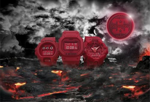 "G-SHOCK présente la collection 35ème anniversaire ""Red-Out"""