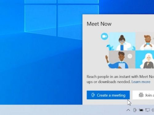 Avec Meet Now, rejoindre un appel vidéo se fera nativement sur Windows 10