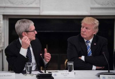 Ce que Tim Cook a dit à Donald Trump lors de la réunion de l'American Technology Council