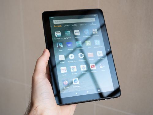 Test de l'Amazon Fire HD 8 2020:  tout feu tout flamme ?