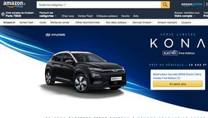 Hyundai Kona Electric First Edition : 20 exemplaires sur Amazon