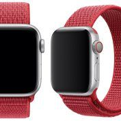 Apple Watch:  Apple met en vente le bracelet Boucle Sport RED