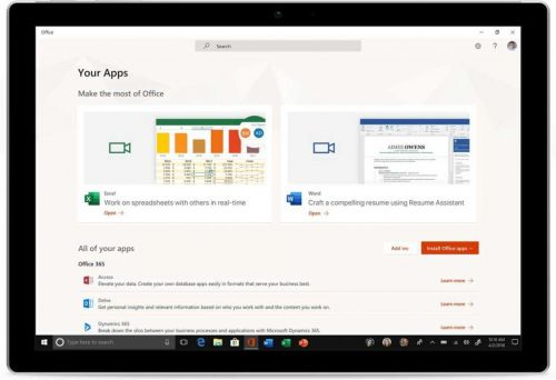 Windows 10, Microsoft propose l'application Office gratuitement