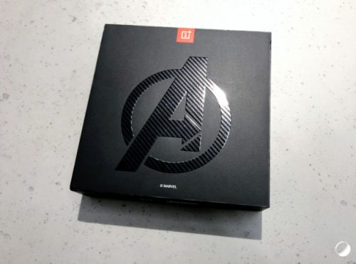OnePlus 6 édition Avengers Infinity War : voici nos photos