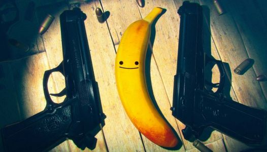 Test - Le shooter My Friend Pedro glisse sur une peau de banane