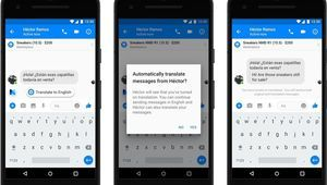 La traduction sur Facebook Messenger est disponible en français